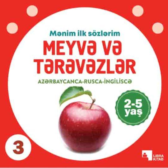Meyvə və tərəvəzlər (2-5 yaş)