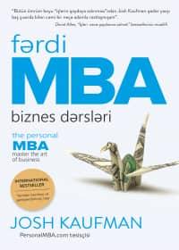 Fərdi MBA. Biznes dərsləri